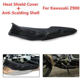 Z900 için 2017-2019 Motosiklet Egzoz Sistemi Orta Bağlantı Borusu Koruyucu Isı Kalkanı Kapak Guard Anti-Haşlanma Kabuk nereden