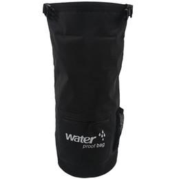 Плавающий водонепроницаемый сухой мешок Защитите ваши вещи Безопасно, Сухо, Чисто от каякинга, Рафтинга, Прогулки на лодках, Отдых на природе, Пляж, Рыбалка черный # 8 от
