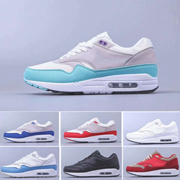 Amante sapatos de desporto on-line-nike air max 87 airmax one 2019 Atomic Teal Sneaker para Homens Mulheres Amante instrutor air 1 Running Sport Shoes