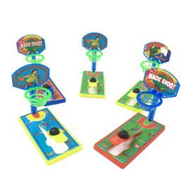 2019 forza macchina Novità di proiettile di plastica giocattolo dito pallacanestro Mini Shooting Machine Force Control Bambini divertimento Sport Game Festival promozionali novità forza macchina economici