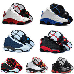 official photos b5c16 a99f9 Best Quality 13 Bred Chicago Flint Men Women Basketball Shoes 13s He Got  Game Melo DMP Grey Toe Hyper Royal Sports Shoes Sneakers
