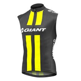 Jersey di ciclismo di modo online-GIANT Cycling Sleeveless jersey Vest Breathable Quick dry trend hot sale fashion Camicia equipaggiamento per biciclette 61406
