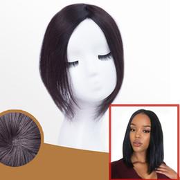 2019 toupee haarspangen Mono Lace Hair Toupee dünne Haut natürliche Haar Topper Party Haarteil menschliche Erweiterung gerade Ersatz-Clip-Verschluss rabatt toupee haarspangen