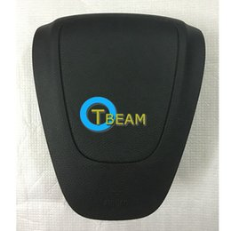 Volante opel on-line-Alta qualidade motorista de carro airbag capa para opel astra volante airbag tampa com logotipo frete grátis