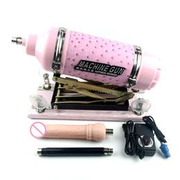 ametralladora sexual Rebajas ENHOT Máquina automática de bombeo retráctil para máquina sexual femenina Con adaptador de consolador de regalo y varilla de extensión DS03-update