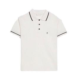 Weißes t-shirt polo online-Luxus Europäischen Brief Logo Print T-Shirt Polo Shorts Herren Designer T Shirts Damen Paar Grau Flut Hohe Qualität Schwarz Weiß T HFSSTX253