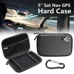 Caso de antena on-line-5 polegadas preto rígido de armazenamento Shell EVA Sat Nav GPS caso capa leva o saco impermeável para Tom / Tom GO 5100 5000 510 500