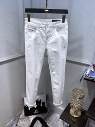 70225c87 19 SS Summer French Solid Classic Style Jeans Slim Fit Motorcycle Biker  Denim Men'S Fashion Designer Hop Mens Jeans Top Quality Size 29-40