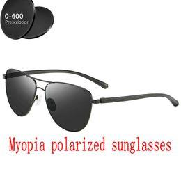 4dcda3129d Custom Myopia Minus Prescription Polarized Lens Designer Optics Gafas de  sol polarizadas Hombres Espejo de conducción Gafas de sol FML prescription  driving ...