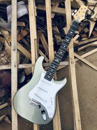 guitarra do céu Desconto Na pré-encomendar guitarras Custom Shop Limited Edition John Mayer Silver Sky
