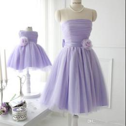 Madre Hija Ropa Vestidos Boda Princesa Tutus Vestido a juego de mon y niña Vestidos de niña de las flores Vestidos de novia de fiesta desde fabricantes