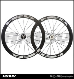 fixar bicicletas de engrenagem Desconto 25 milímetros de largura 50 milímetros pintura de alta HED engrenagem fixa rodeiros de carbono cheia de carbono wheelswheels 700C estrada de pista bicicleta