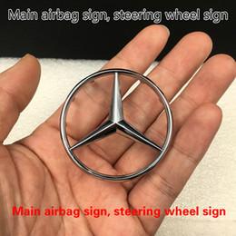 Volante centrale online-Fabbrica originale con supporto Mercedes-B con marchio del volante Mercedes-Bz con etichetta al centro del volante Mercedes-B