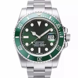 Homens Relógio de Luxo Homens de Alta Qualidade Assista Relógio Mecânico Automático 40mm 116610 À Prova D 'Água 30 M relógio de pulso de Safira de