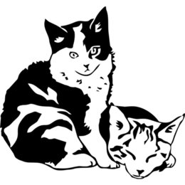 2019 bote gato bebé 16 * 14.9 cm Nuevo Estilo Caliente Cálido Y Romántico Gato Bebé Mascota Animal Coche Barco Portátil Camión Ventana Vinilo Calcomanía Etiqueta bote gato bebé baratos