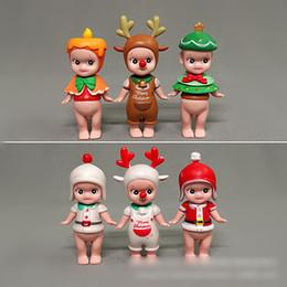 Sonny Anjo Figuras de Ação Boneca Brinquedos 6 Modelos de Série de Natal Para Crianças Brinquedos Presentes das Crianças Bens Caráter Figuras Brinquedos cheap sonny angels dolls de Fornecedores de bonecas sonny angels