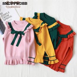 Mutter & Kinder Pullover Neue Ankunft Mode Giraffe Muster Stricken Pullover Für Kinder Warme 100% Gekämmte Baumwolle 3 Farben Erhältlich