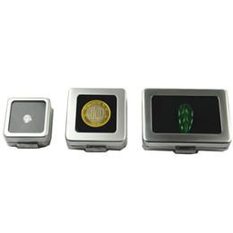 Bijoux en diamant en Ligne-Petit diamant en vrac ou pierre gemme affichage boîte en métal boîte contenant de stockage bijoux bijoux titulaire gemmes organisateur ZC0238