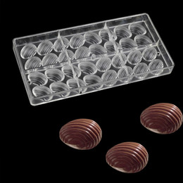Eggs Shape Polycarbonate Candy Chocolate Moulds Diy Pastry Chocolate Decorating Tools Homemade Molds