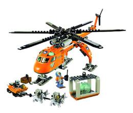 Hot 2017 Nouveau Bela 10439 273pcsarctique Helicrane Ville Set Hélicoptère Husky Compatible Building Block Jouets Pour Enfants Y190606 ? partir de fabricateur