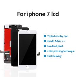 2019 digitalizador lcd lcd 10 PCS Para iPhone 7 8 Display LCD Módulo 3D Touch Digitador Assembléia Substituição 4.7