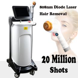 Épilation haut en Ligne-Top vente 808nm Diode laser épilation beauté équipement épilation au laser machine pour une utilisation de salon