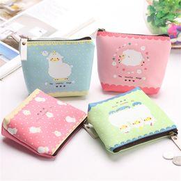 Şeker renkli Sevimli Kuzu Desenli PU Deri Küçük Çanta kadın Kız Kulaklık Hattı Sikke çanta Kart Çanta Debriyaj Cüzdan ST359 nereden