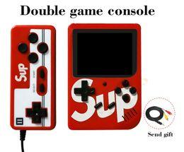 Computador de mão do console pvp on-line-SUP Handheld Video Games Console Suporte para jogos de dois jogadores 300 em 1 AV Saída 3.0 tela HD Game Player mais de PVP PXP3 1 Pcs