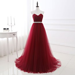 2019 красные перья индейки Women Evening Dress Formal Tulle Dresses Wine Red Sweetheart Neckline Sequin Beaded Prom Graduation Party Dress