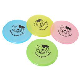 frisbee di plastica animale domestico Sconti Cane Frisbee pascolo silicone pet flying disco volante addestramento cane denti mordere giocattolo pet piattino addestramento cane verde plastica frisbee pet giocattolo