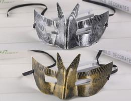 cadeau jazz Promotion 2019 nouveau prince antique prince antique batte masque en plastique jazz des hommes jazz masque rétro bronze ancien masque masque cadeau