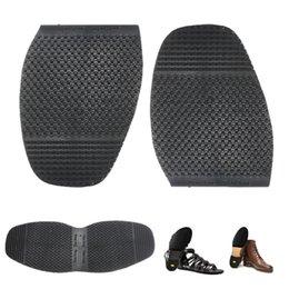 2019 palos de tacón 2 en 1 suela de goma Soltrack de bricolaje para hombres, suelas, zapatos de tacón, reparación antideslizante, agarre, goma, almohadilla, cojines, cojines rebajas palos de tacón