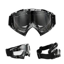 NOVO Esporte Ao Ar Livre Legal Motocross ATV Dirt Bike Off Road Racing Goggles Óculos de motocicleta Surf Airsoft Paintball de Fornecedores de óculos terra