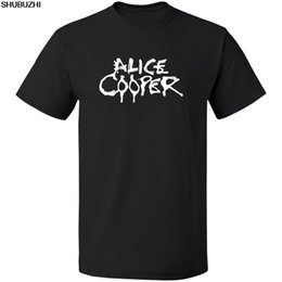 wholesale alice bands Promo Codes - Retno Classic Rock Band, Alice Cooper Limited T-SHIRT S-3XL TEE FREE SHIPPING Print T Shirt Men Hot Top Tee