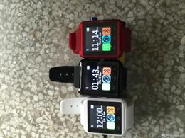 bluetooth lautsprechertelefonuhr Rabatt Rohs Direct Selling Promotion Französisch-Silikon-Bügel Smart Watch U8 Armbanduhr Günstige Unterstützung Bluetooth Lautsprecher Android-Handy 2019