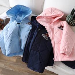 бесплатная доставка девушки мальчики куртка свет дети куртка капюшон хлопок вниз пальто зимняя детская куртка весна осень малыш верхняя одежда пальто от
