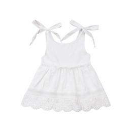 Vestidos Blancos De Verano Para Niña Bautismo Ropa De Niña Bebé 1 Año Fiesta De Cumpleaños Ropa De Bautizo Para Niños Pequeños Vestido Infantil