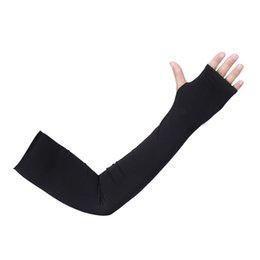Argentina DHL al aire libre de ciclo del brazo mangas, de protección solar UV de enfriamiento mangas del brazo, brazo de la cubierta del protector Hombres Mujeres de Deportes y construcción Suministro
