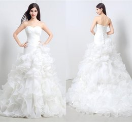 2019 robe de queue de pêche en dentelle blanche Real Photo Nouveautés 2019 Tube Top Robes De Mariée Blanc Augen Head Fishtail Serviette Dentelle Pull Doux Robes Eglises promotion robe de queue de pêche en dentelle blanche