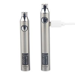 UGO V3 batterie de fil 510 tension variable préchauffer stylo vape 650mah 900mah Ego Evod micro chargeur USB de cigarettes électroniques ? partir de fabricateur