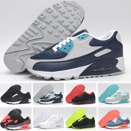 premium selection 92771 72556 Nike Air Max 90 Vendita calda Zapatillas 90 Ez Scarpe casual per gli anni  90  di alta qualità Nero Bianco Rosso Grigio Blu Verde Scarpe da uomo 40-45