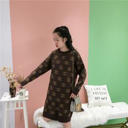 jersey di bambù Sconti Primavera nuovo stile addensato versione coreana maglione femminile medio lungo allentato basso girocollo imitazione alpaca maglione femminile skir di fascia alta