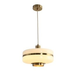 lampara moderna tom dixon Rebajas Luces colgantes de cristal nórdico redondo personalidad creativa Lámpara de suspensión comedor simple moderna Iluminación para el hogar AL314