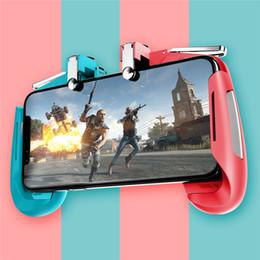 Coloré AK16 Manette De Jeu Gamepad Déclencheur Bouton De Tir L1R1 Tireur Extensible PUBG Contrôleur De Jeu Pour IOS Android Phone ? partir de fabricateur
