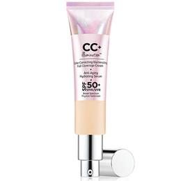 Crema CC de alta calidad Su piel, pero mejor CC + crema Corrección de color Crema iluminadora de cobertura total 32ml desde fabricantes