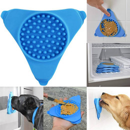 slow feeder bowl Coupons - Pet Dog Cat Interactive Slow Food Bowl 1Pc Anti Slip Gulp Feeder Healthy Bloat Dish For Pet Feeding Tools