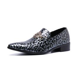 Argentina Tipo italiano zapatos de los hombres del dedo del pie puntiagudo zapatos de vestir de cuero genuino masculino sepatu pria Oficina Business Shoes para hombre, tamaño grande Suministro
