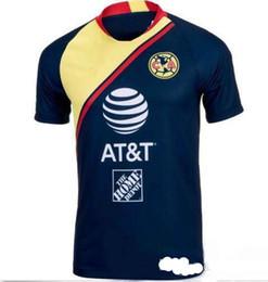 d2104b79cf5 2018 19 Club de Futbol America home away 3rd Soccer Jersey new de Futbol America  away Soccer Shirt Customized Mexico club football uniform
