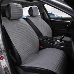 Argentina 2 esteras cubren la colchoneta Protect Cojín del asiento del automóvil Cubiertas del asiento Universal / O SHI CAR Se ajusta a Kia, etc. Suministro
