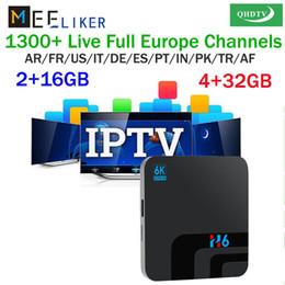 Toptan 4 GB ram QHDTV ile android tv kutusu H6 1 yıl APK hesabı akışı smarttv m3u 32 GB wifi internet dünya set top box arapça nereden